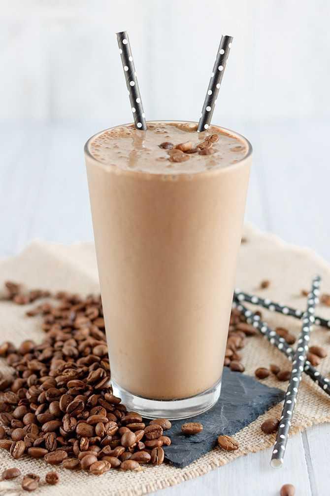 самбука с кофе коктейль